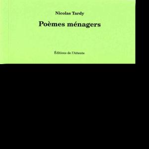 Couverture d'ouvrage: Poèmes ménagers