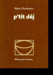 Couverture d'ouvrage: P'tit déj