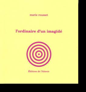 Couverture d'ouvrage: L'ordinaire d'un imagidé