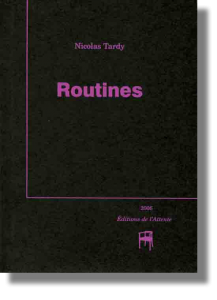 Couverture d'ouvrage : Routines