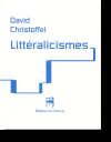 Littéralicismes