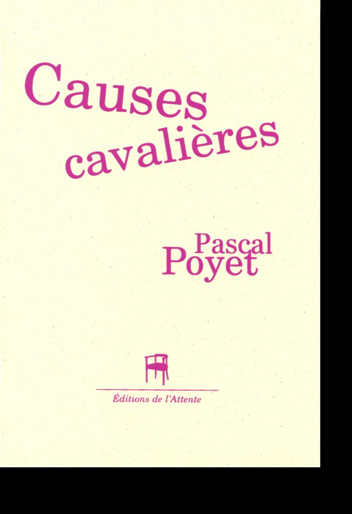 Couverture d'ouvrage: Causes cavalières