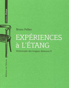 Couverture d'ouvrage: Expériences à l'étang