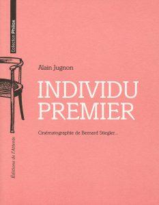 Couverture d'ouvrage: Individu premier