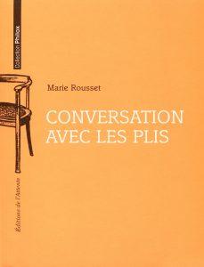 Couverture d'ouvrage: Conversation avec les plis