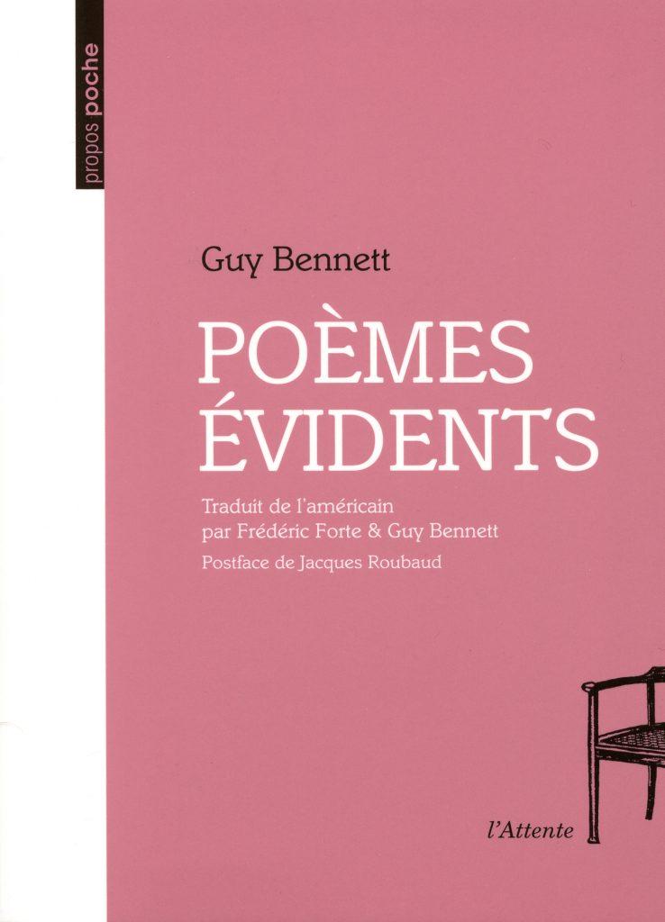 Couverture d'ouvrage: Poèmes évidents
