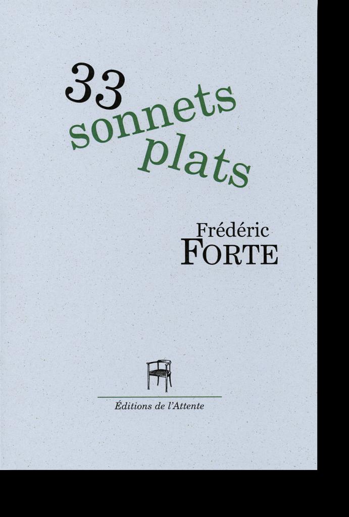 Couverture d'ouvrage: 33 sonnets plats