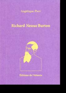 Couverture d'ouvrage: Richard Nessus Burton