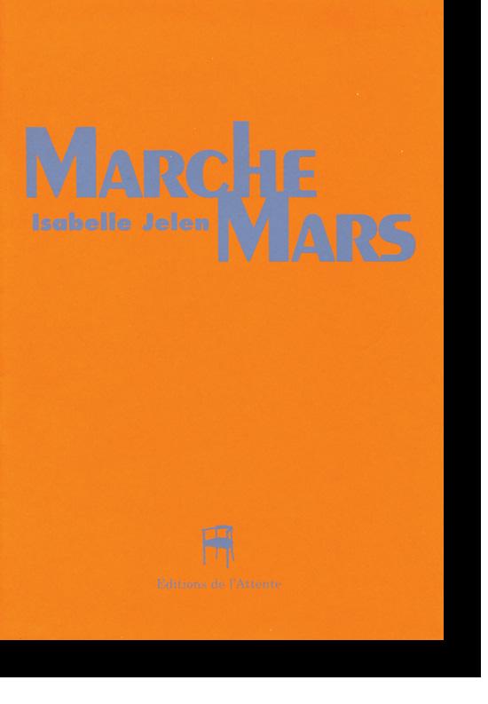 Couverture d'ouvrage: Marche Mars