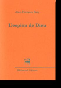 Couverture d'ouvrage: L'espion de Dieu