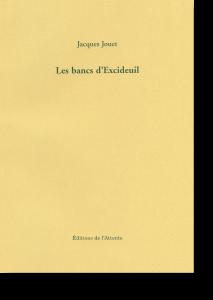 Couverture d'ouvrage: Les bancs d'Excideuil