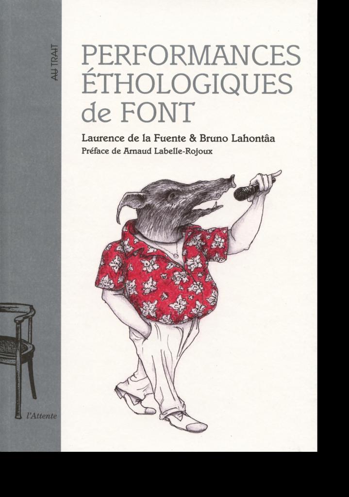 Couverture d'ouvrage: Performances éthologiques de Font