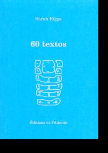 Couverture d'ouvrage: 60 textos