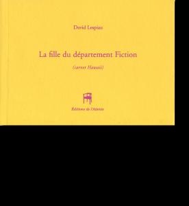 Couverture d'ouvrage: La fille du département Fiction