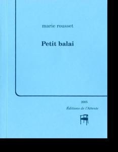 Couverture d'ouvrage: Petit balai