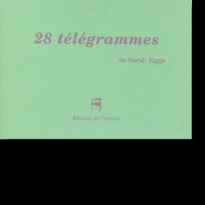 Couverture d'ouvrage: 28 télégrammes