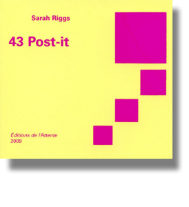 Couverture d'ouvrage : 43 Post-it