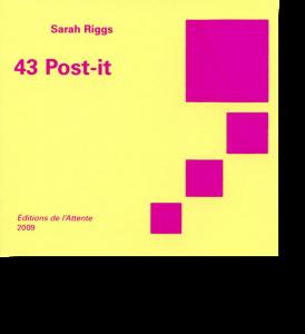 Couverture d'ouvrage: 43 Post-it