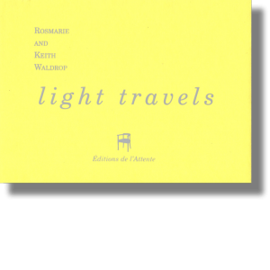Couverture d'ouvrage : Light travels