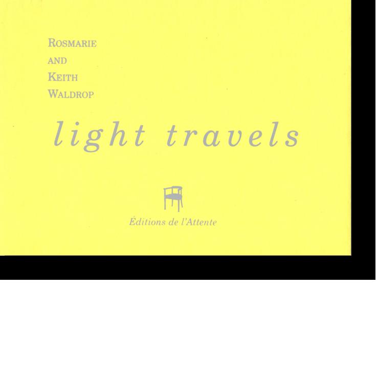 Couverture d'ouvrage: Light travels