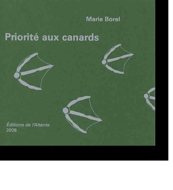 Couverture d'ouvrage: Priorité aux canards
