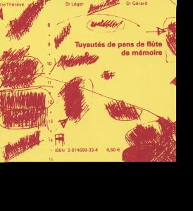Couverture d'ouvrage: Tuyautés de pans de flûte de mémoire