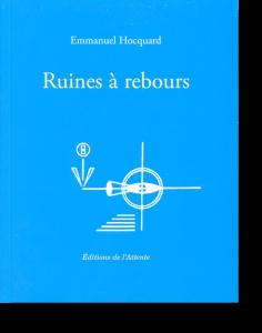 Couverture d'ouvrage: Ruines à rebours