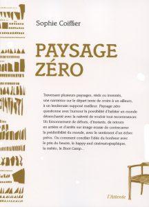 Couverture d'ouvrage: Paysage zéro