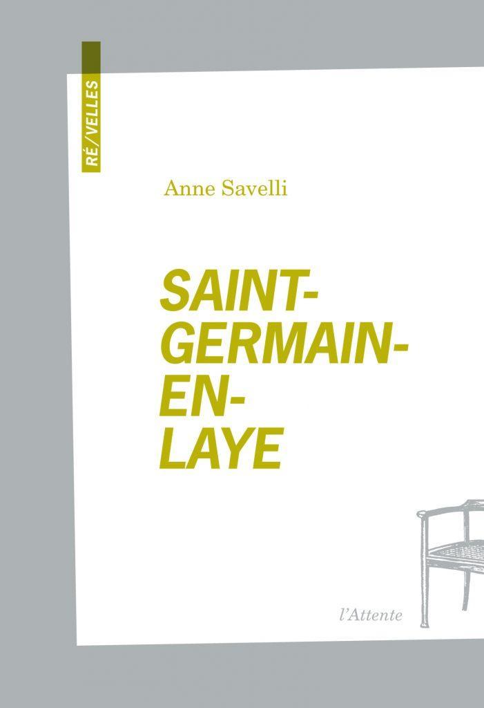 Couverture d'ouvrage: Saint-Germain-en-Laye