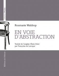 Couverture d'ouvrage: En voie d'abstraction