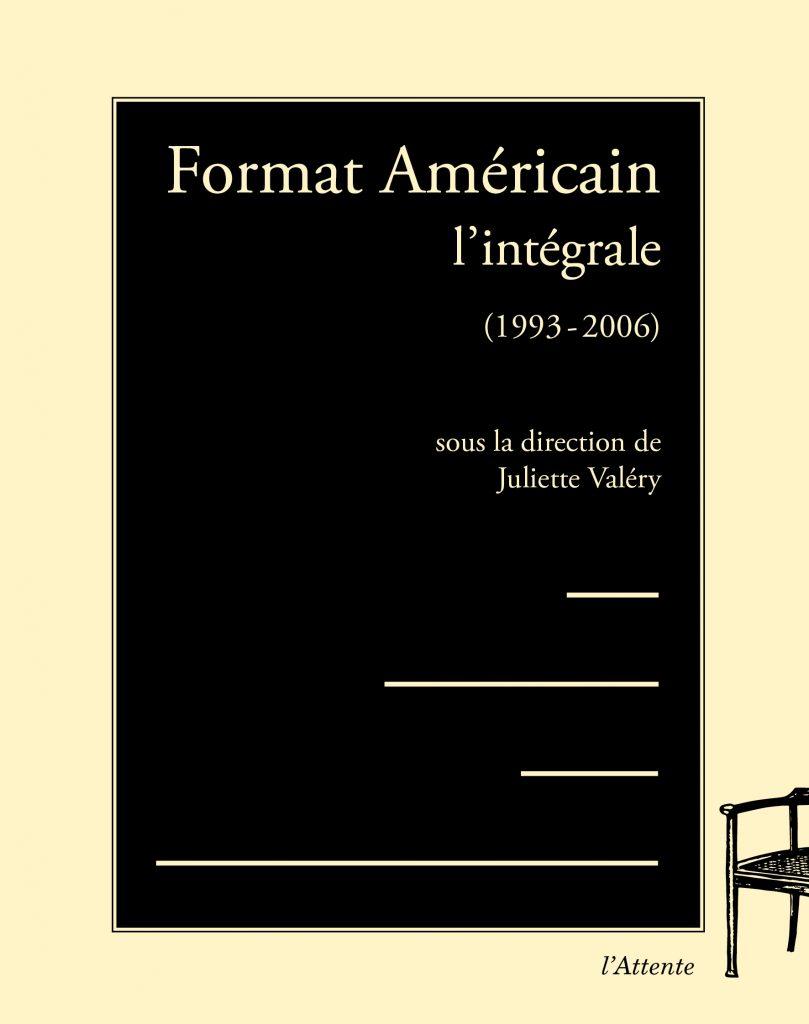 Couverture d'ouvrage: Format Américain  – l'intégrale – (1993-2006)